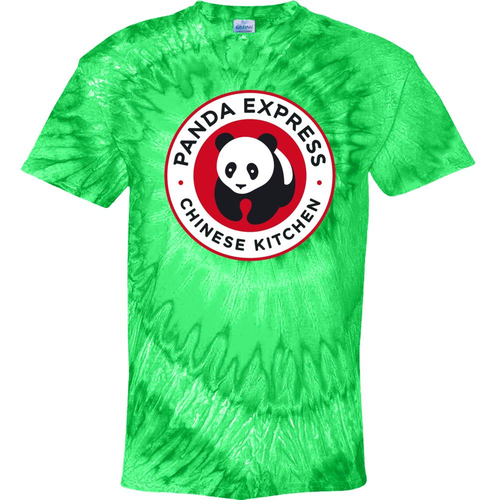 Panda Express Top American Chinese Fast Food Tie Dye