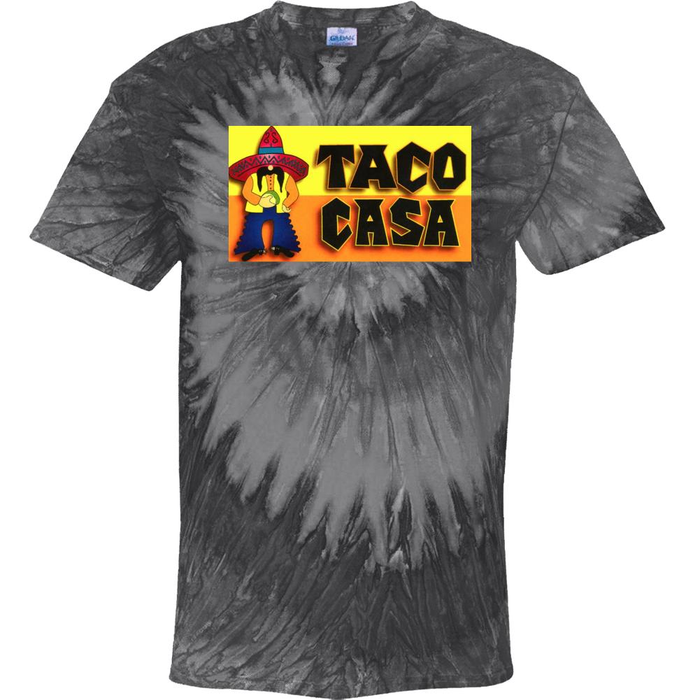 Taco Casa World Best Southern Restaurants Fan Tie Dye