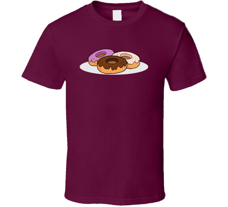 Donut Lover Dessert T Shirt