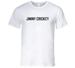 Jiminy Cricket! Funny Cool Graphic T Shirt