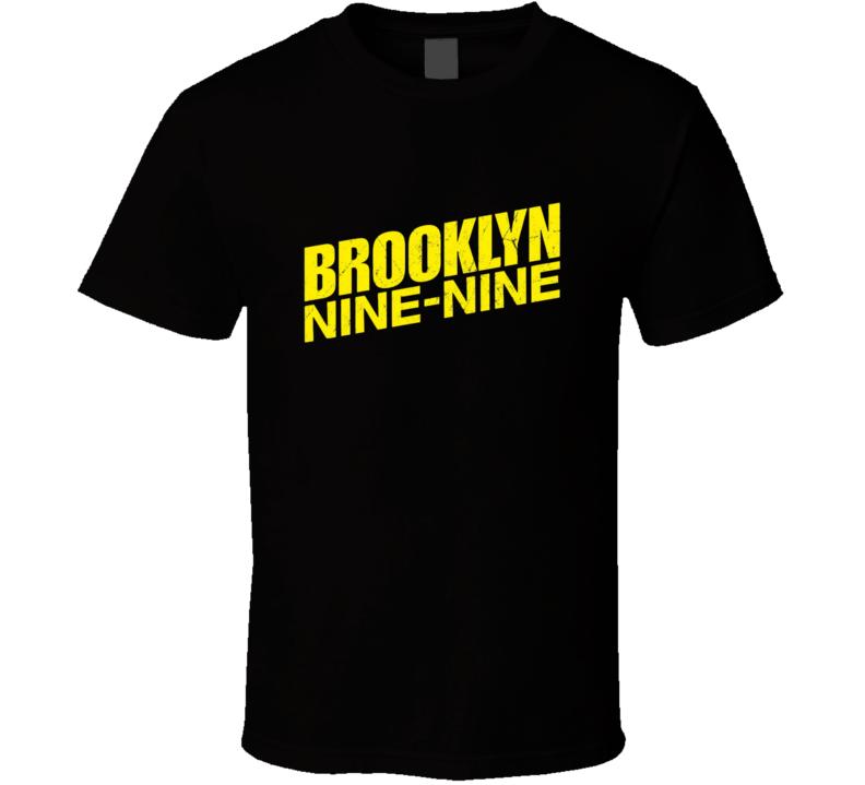 Brooklyn Nine Nine Tv Show Logo Funny Cool Comedy Police Fan Gift T Shirt