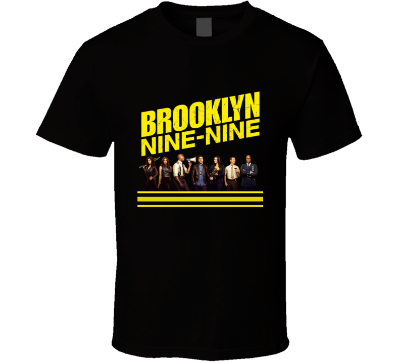 Brooklyn Nine Nine Detective Peralta Rose Amy Gina Holt Charles Tv Show Logo Funny Cool Comedy Police Fan Gift T Shirt