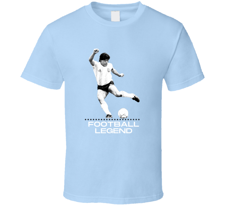 Maradona Football Legend Player Dies 60 Rip Tribute Argentina Soccer Napoli World Cup Doping Fan T Shirt