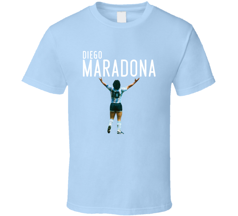 Diego Maradona Football Legend Rip Soccer Argentina Sports Fan T Shirt