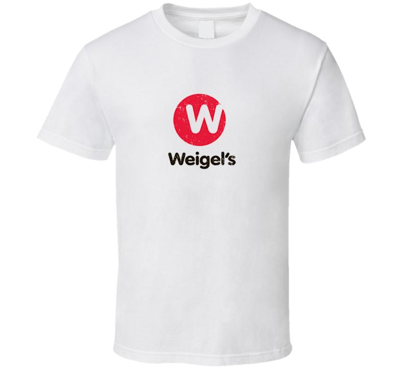 Weigels Gas Station Logo Cool Trendy Gift Grunge Look T Shirt