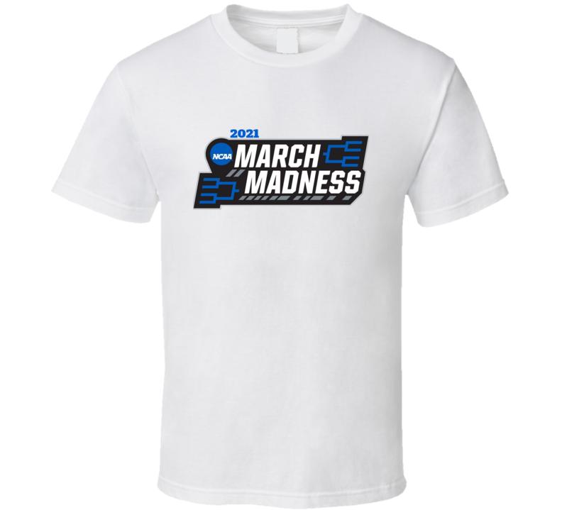 March Tournament 2021 Basketball Fan Cool Tournament Logo Fan T Shirt