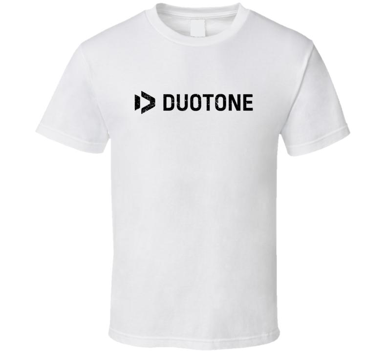 Duotone Brand Logo Kiteboarding Kite Surf Fan Cool Rider Gift Vintage Look T Shirt