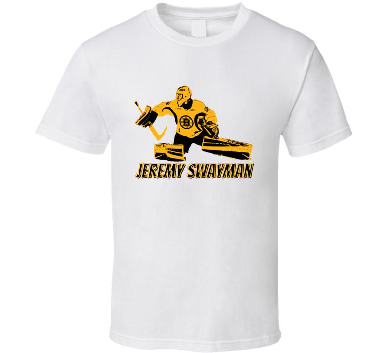 Jeremy Swayman Boston Goalie Fan Cool Hockey Player Gift T Shirt