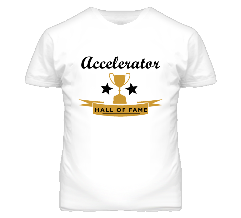 Accelerator Essential Hall Of Fame T Shirt