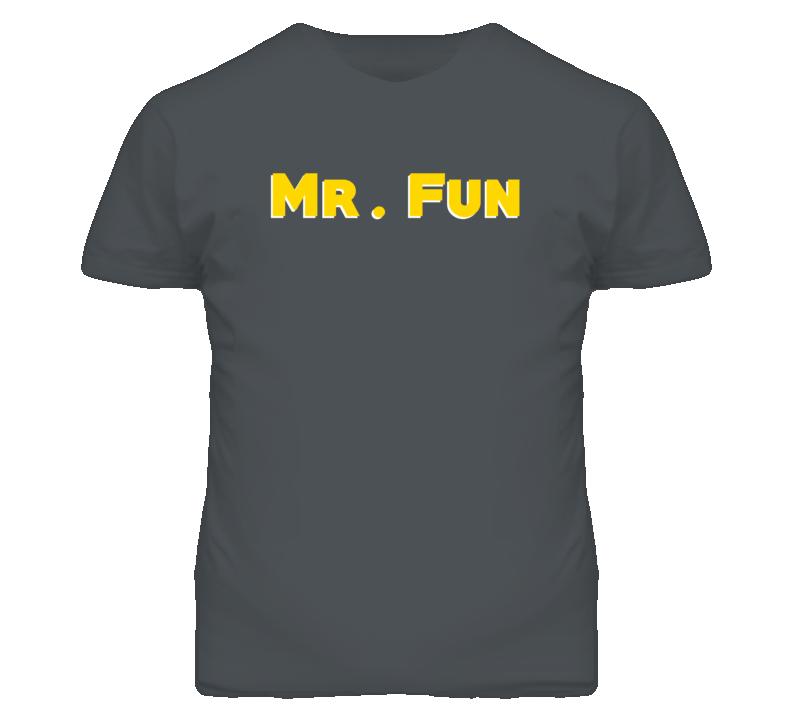 Mr. Fun Adjective Funny Random T Shirt