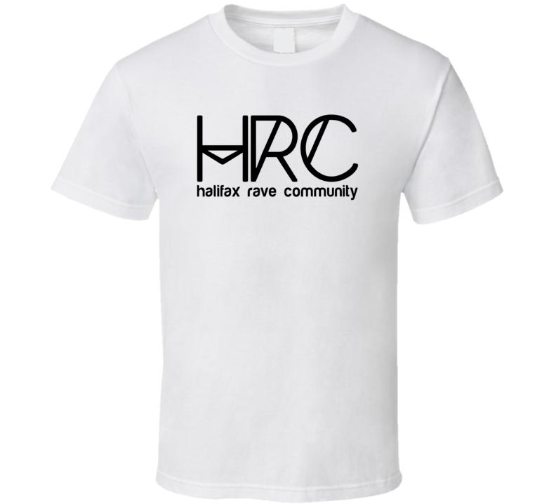 Halifax Rave Community HRC Music Festival T Shirt