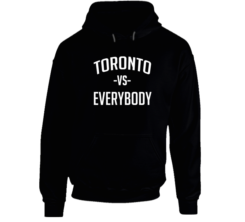 Jose Bautista Inspired Toronto Vs Everybody Baseball Playoffs Series Hoodie