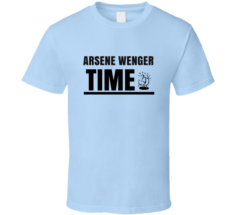 Arsene Wenger Time Soccer Coach T Shirt