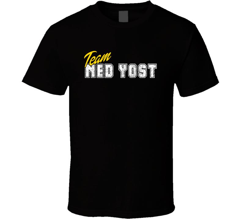 Team Ned Yost Sport Fan Baseball Coach T Shirt