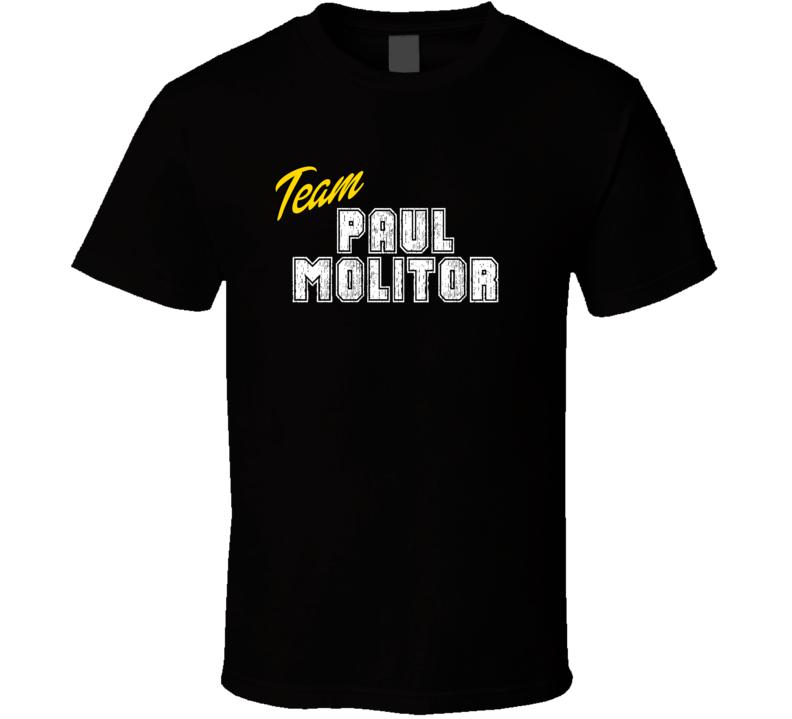 Team Paul Molitor Sport Fan Baseball Coach T Shirt