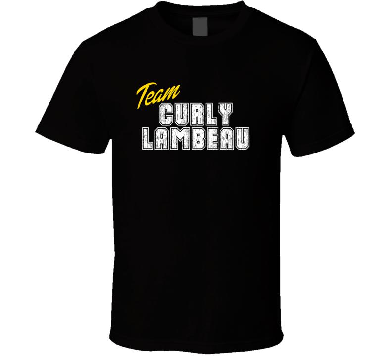 Team Curly Lambeau Sport Fan Football Coach T Shirt