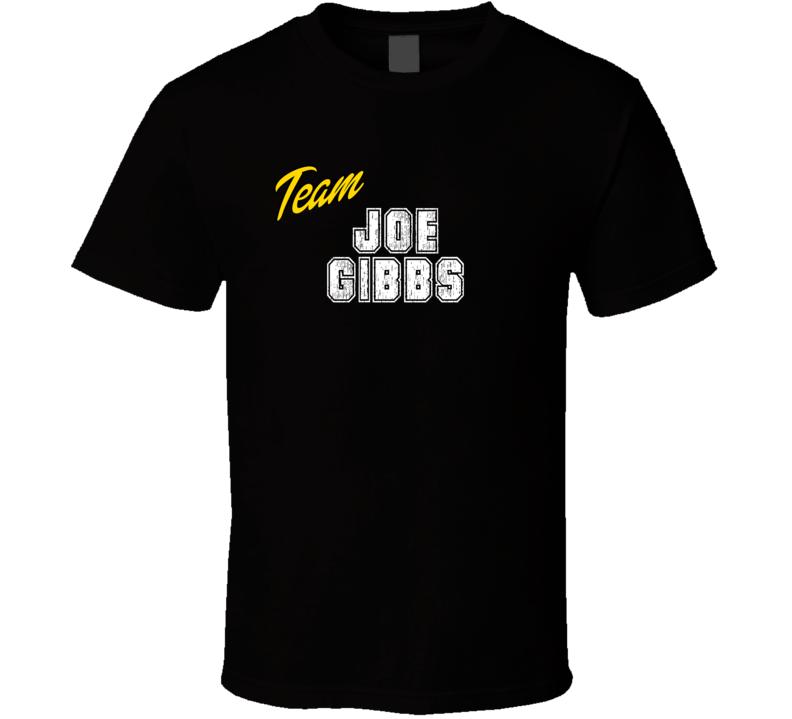 Team Joe Gibbs Sport Fan Football Coach T Shirt