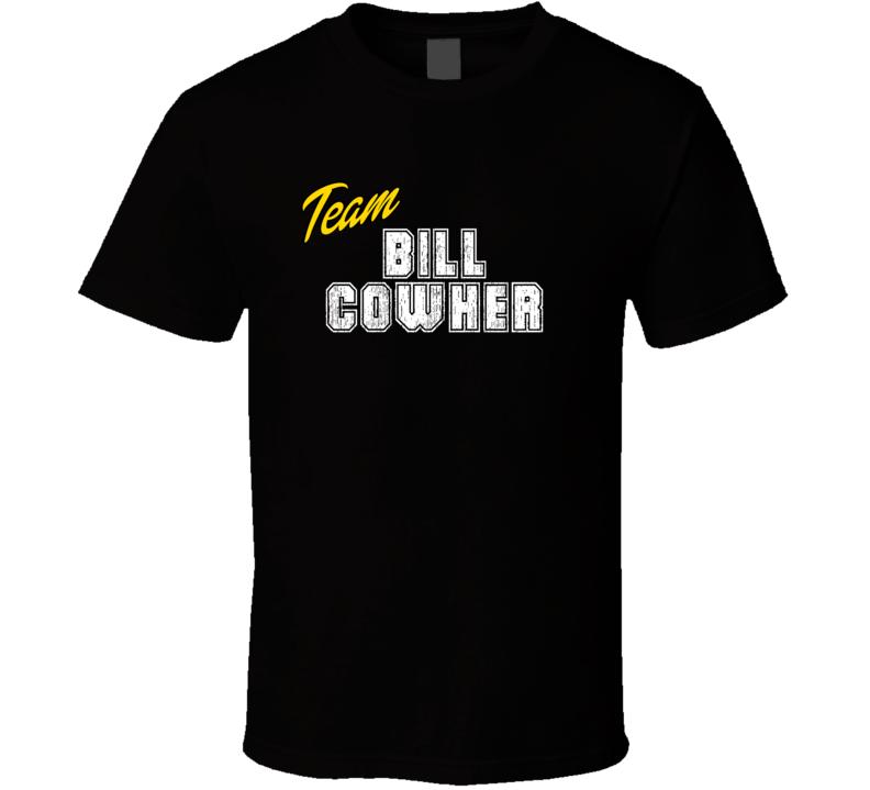Team Bill Cowher Sport Fan Football Coach T Shirt