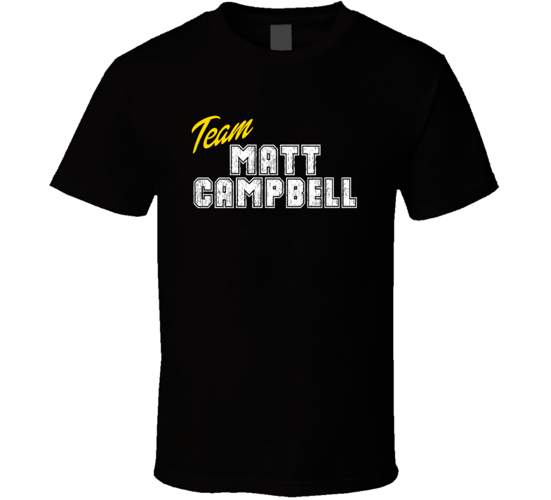 Team Matt Campbell Sport Fan Football Coach T Shirt