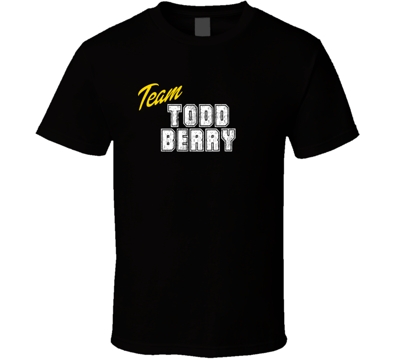Team Todd Berry Sport Fan Football Coach T Shirt