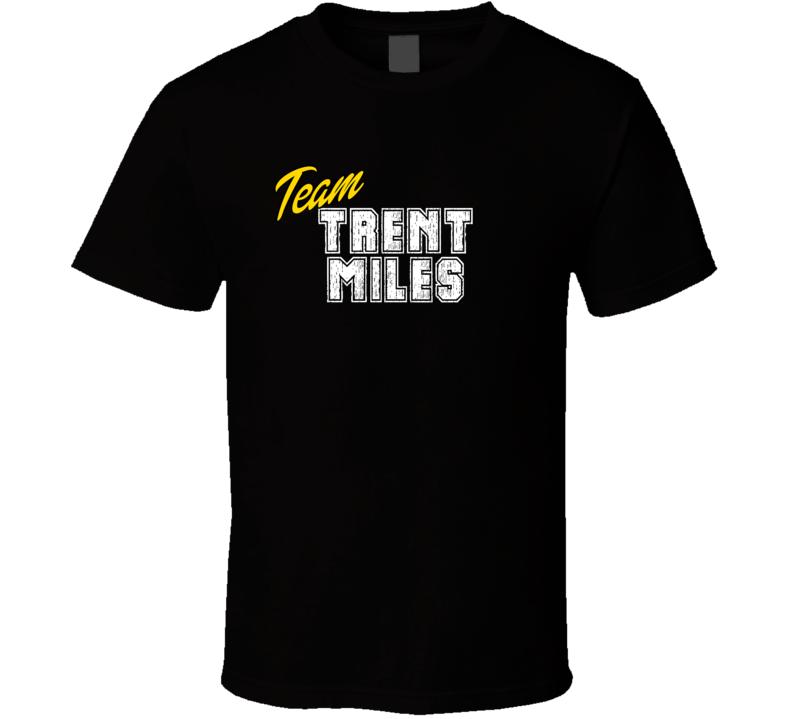 Team Trent Miles Sport Fan Football Coach T Shirt