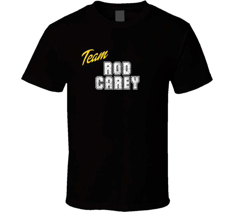 Team Rod Carey Sport Fan Football Coach T Shirt