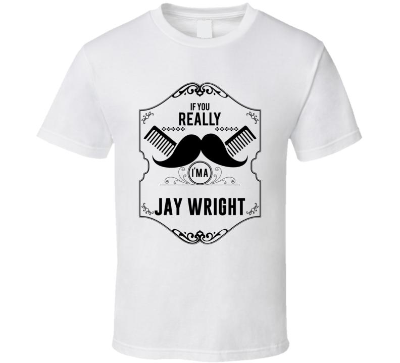 If You Moustache Im A Jay Wright Fan Basketball Coach T Shirt