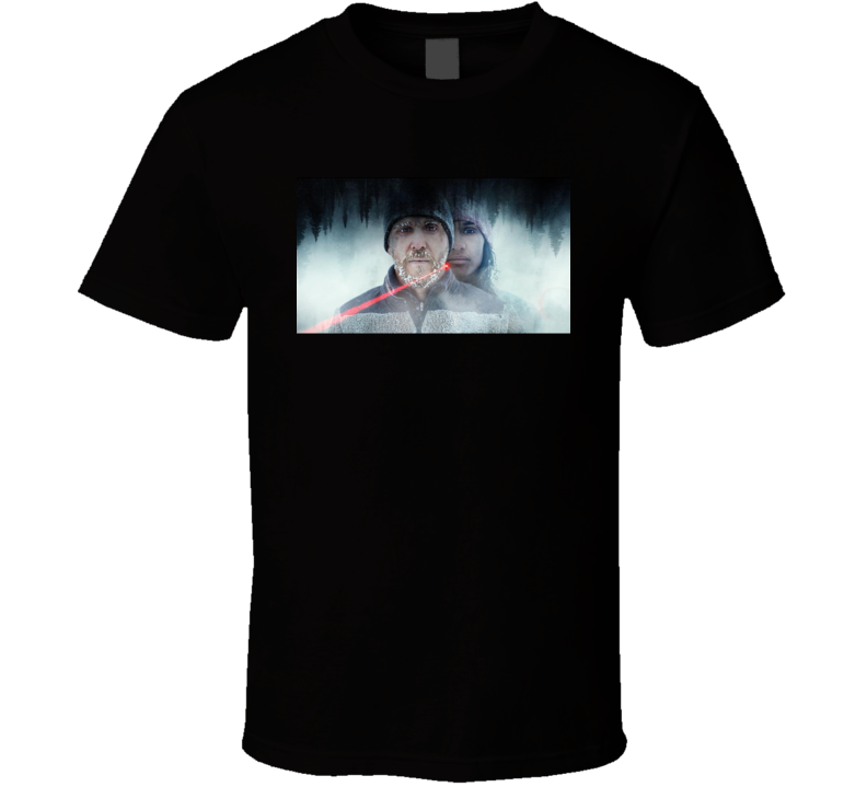 Red Dot 2021 Netflix New Movie Poster Mystery Thriller Hiking Trip Shooter Gunman T Shirt