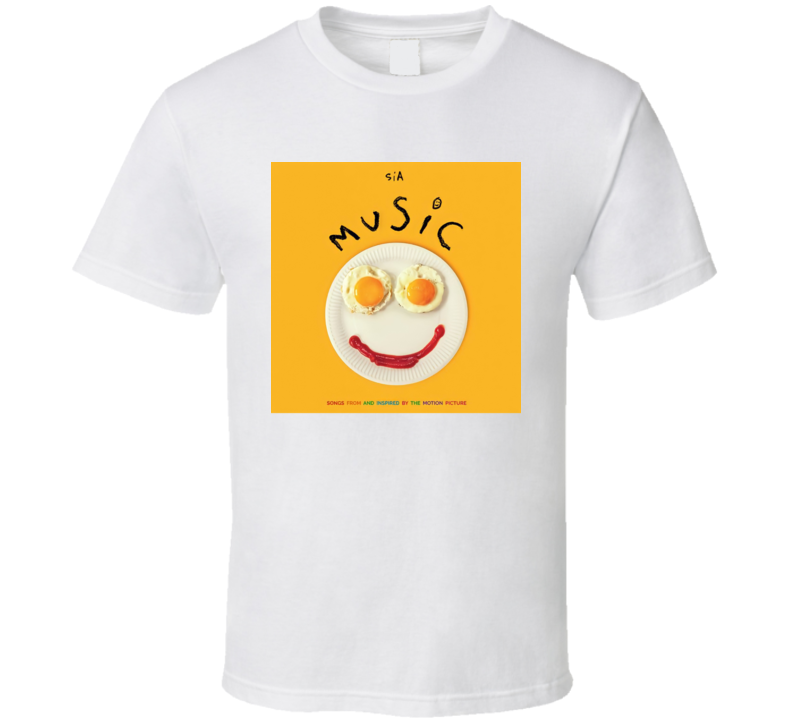 Music Sia 2021 New Movie Poster Film Autism Community Soundtrack Songs T Shirt