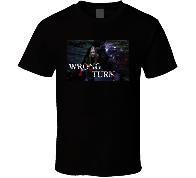 Wrong Turn 2021 New Movie Poster Horror Thriller Film Appalachian Trail Hikers Charlotte Vega T Shirt