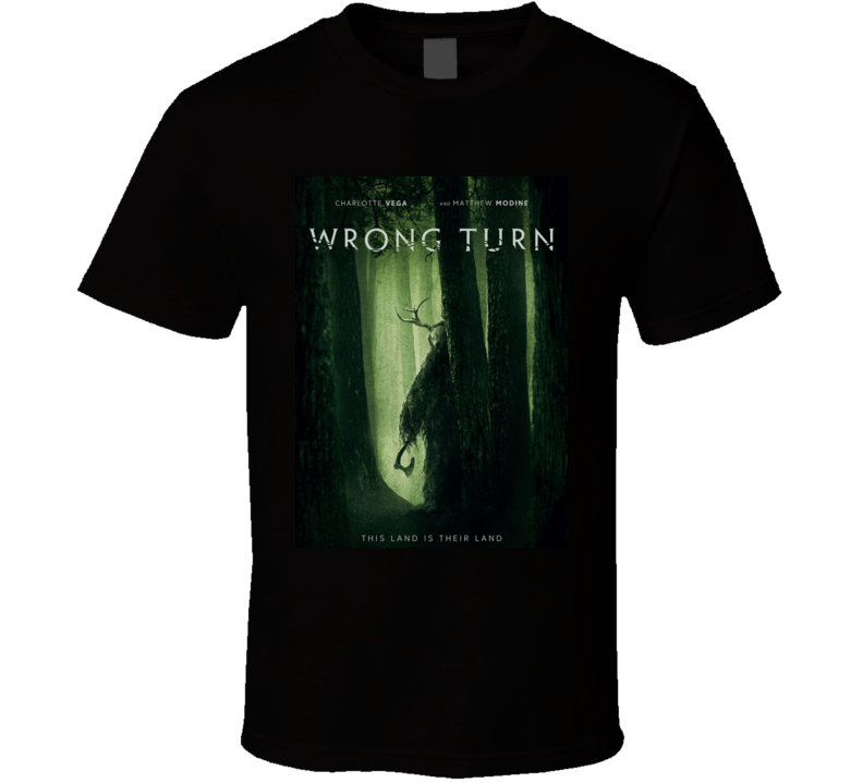 Wrong Turn 2021 New Movie Poster Horror Thriller Appalachian Trail Hikers T Shirt