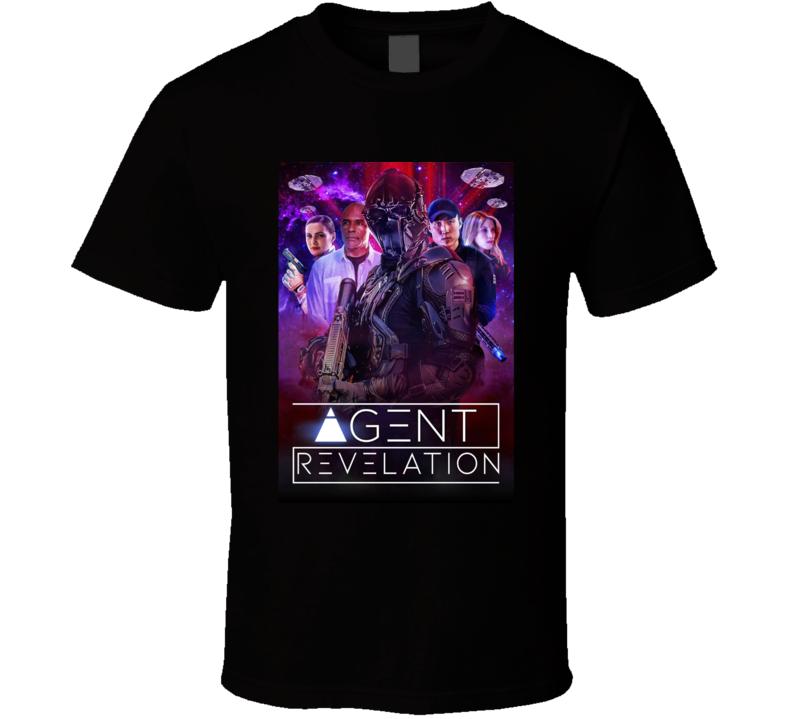 Agent Revelation 2021 Amazon Original New Movie Poster Alien Sci-fi Film T Shirt