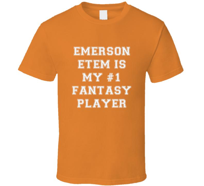 Emerson Etem Anaheim  Number One Fantasy Hockey Player Fan T Shirt