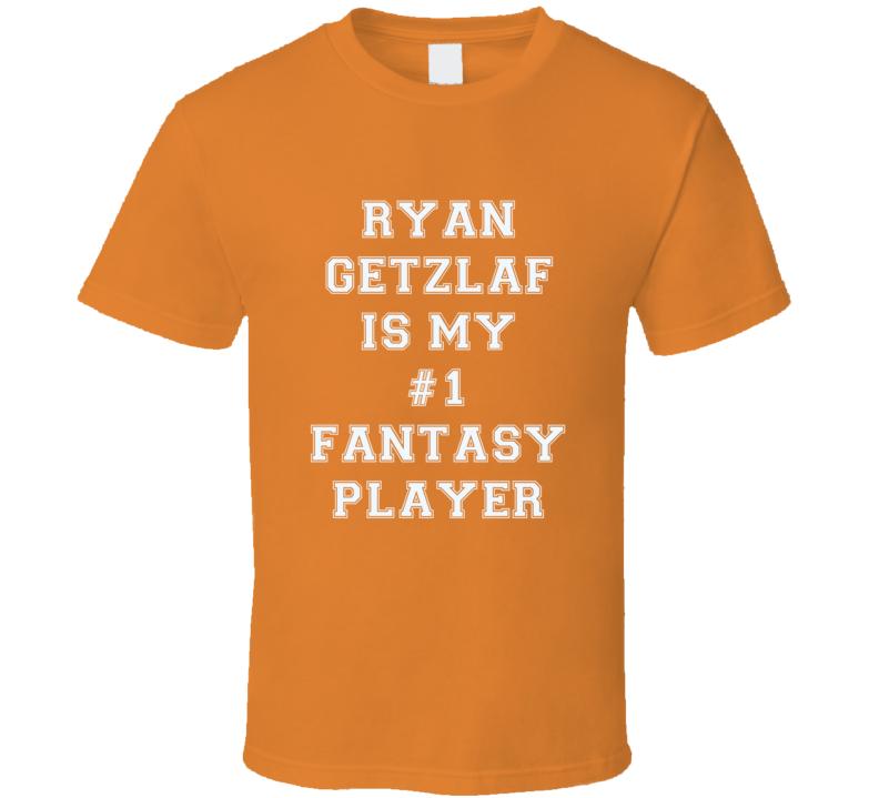 Ryan Getzlaf Anaheim  Number One Fantasy Hockey Player Fan T Shirt