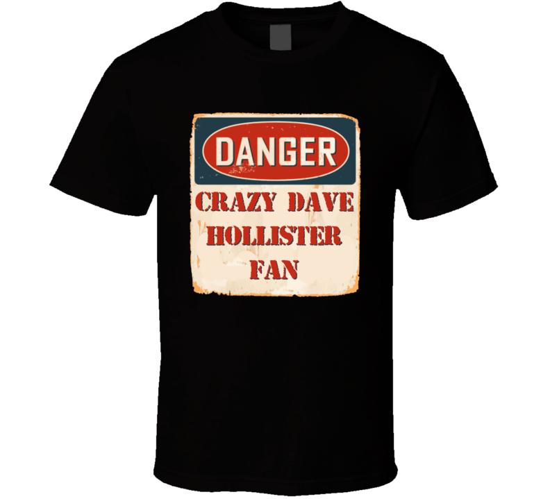 Crazy Dave Hollister Fan Music Artist Vintage Sign T Shirt