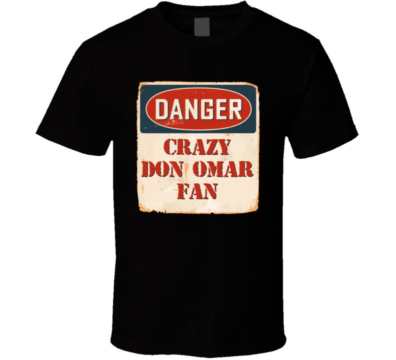 Crazy Don Omar Fan Music Artist Vintage Sign T Shirt