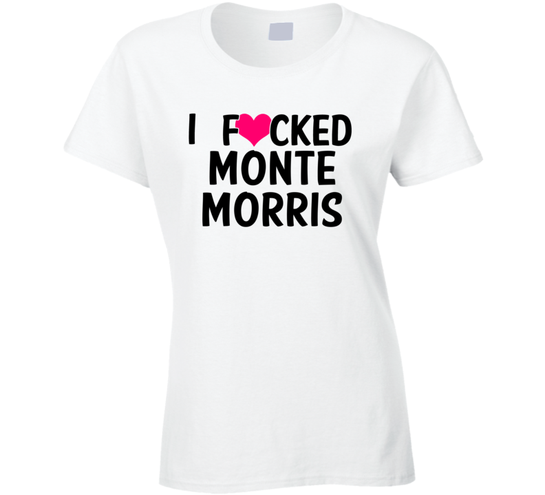 online store 345ff df51f I Fucked Heart Love Monte Morris Ia State Basketball Funny Fan T Shirt