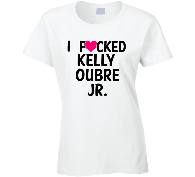 I Fucked Heart Love Kelly Oubre Jr. Kansas Basketball Funny Fan T Shirt