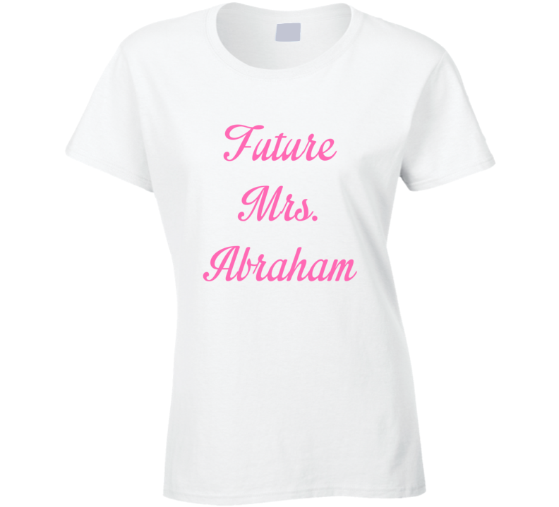 Future Mrs Farrah Abraham Cute Fan Gift Celebrity Crush T Shirt