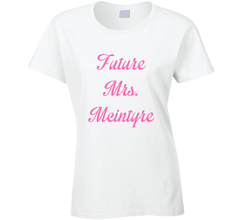 Future Mrs Joey Mcintyre Cute Fan Gift Celebrity Crush T Shirt