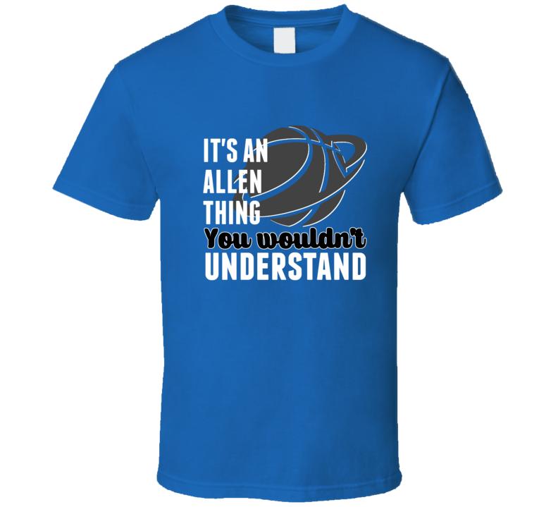 Its A Grayson Allen Thing Wouldnt Understand Duke Basketball T Shirt