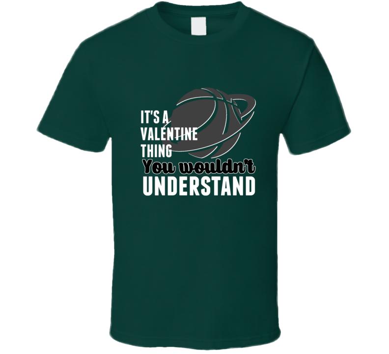 Denzel Valentine Thing Wouldnt Understand Michigan Basketball T Shirt