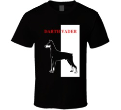 Darth Vader Doberman Scarface Black Best Friend Dog Lover T Shirt