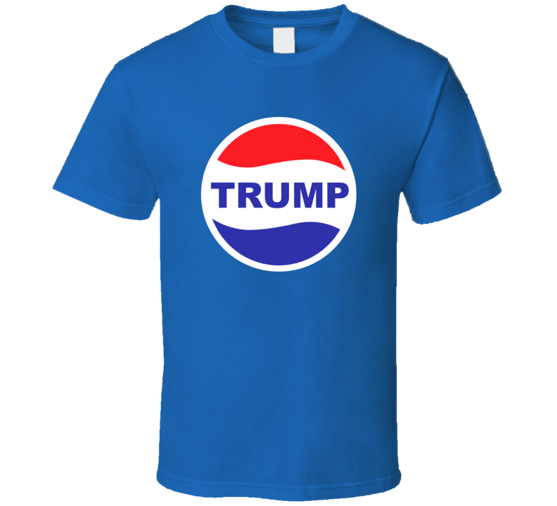 Trump Pepsi Parody Donald Trump President Republican T Shirt