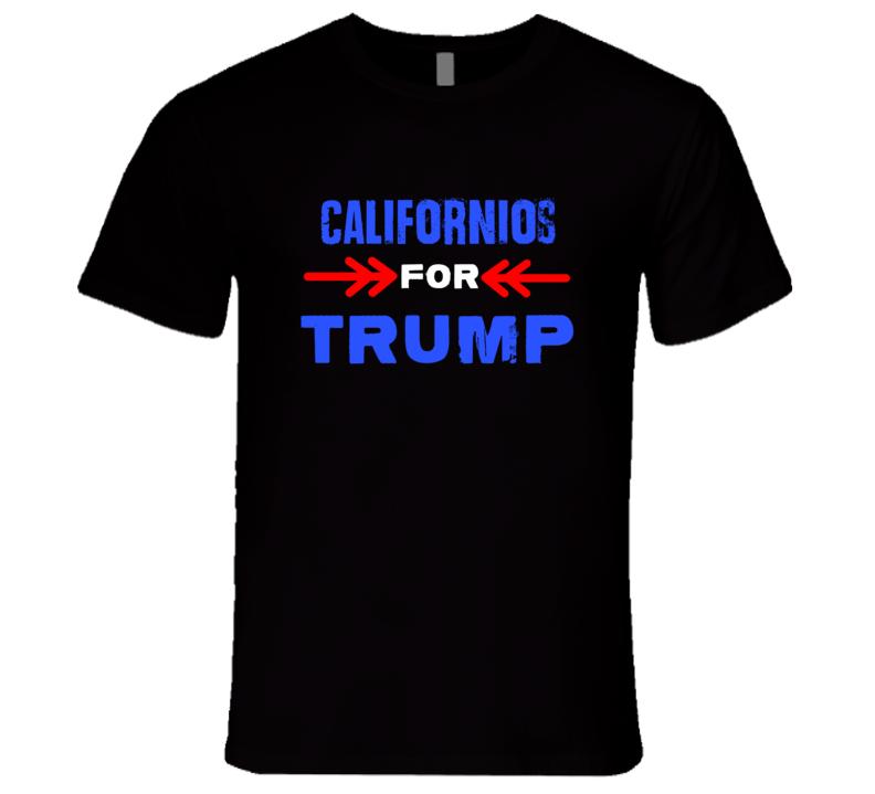 Californios For Trump California Republican President T Shirt