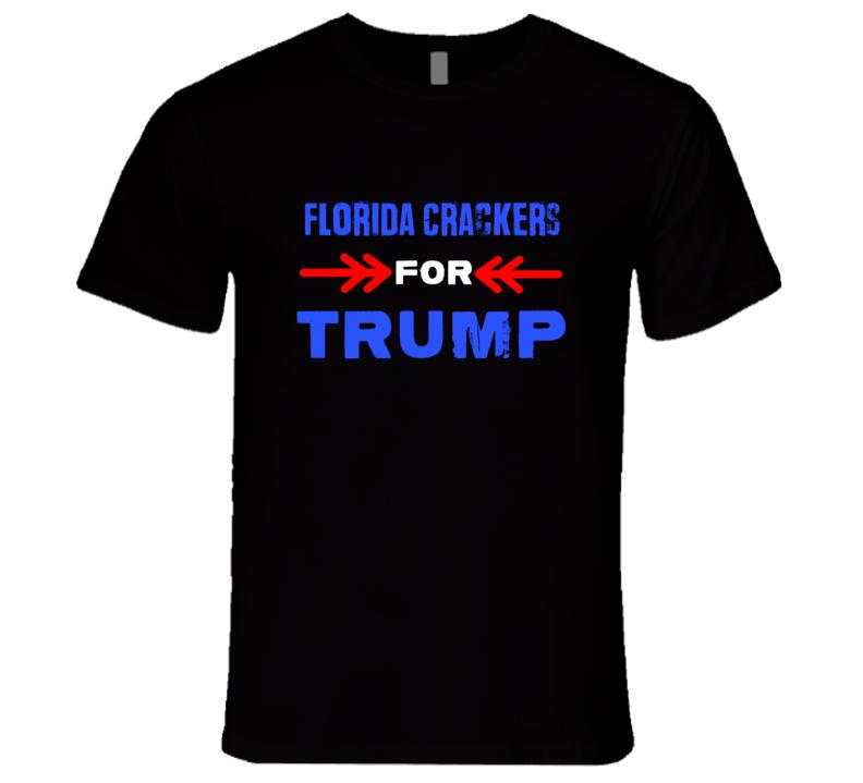 Florida Crackers For Trump Florida Republican President T Shirt