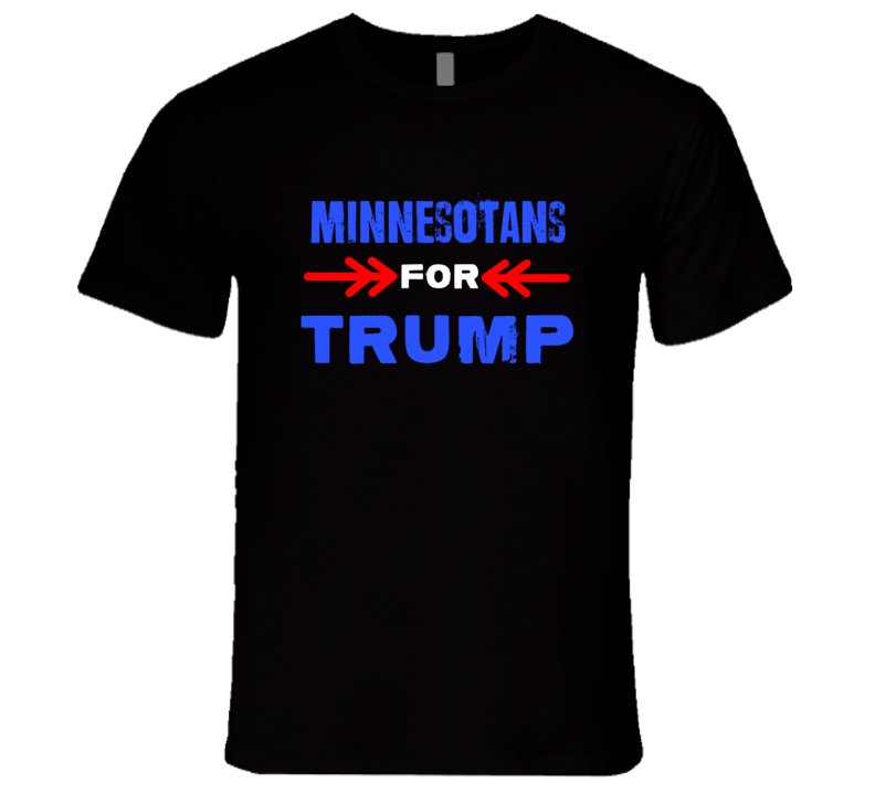 Minnesotans For Trump Minnesota Republican President T Shirt