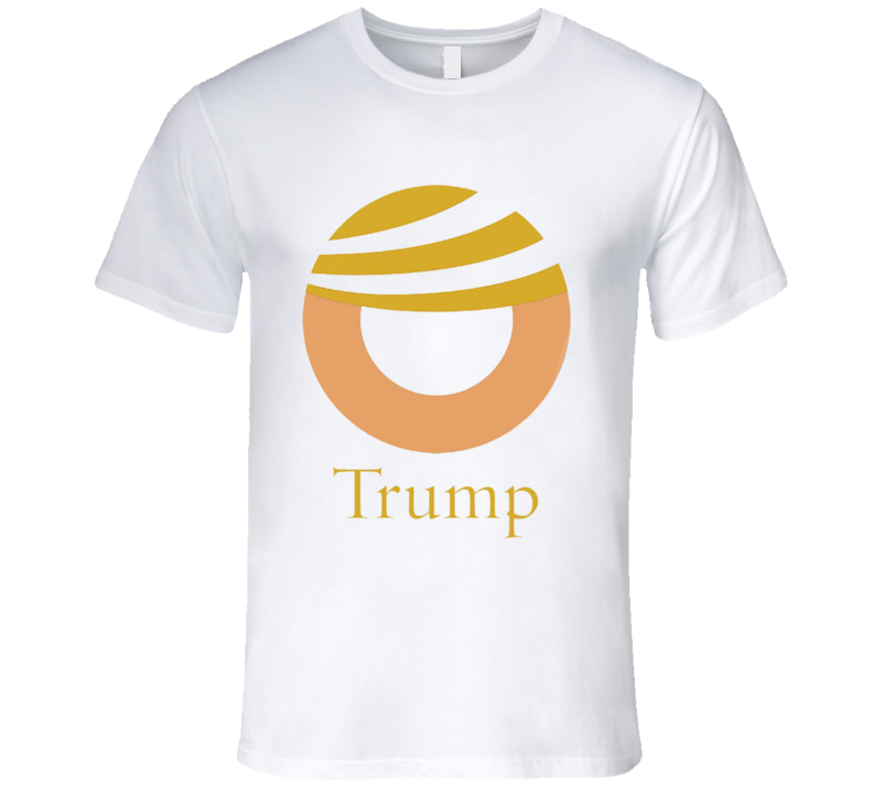 Donald Trump Comb Over Hair Funny Obama Parody Campaign T Shirt