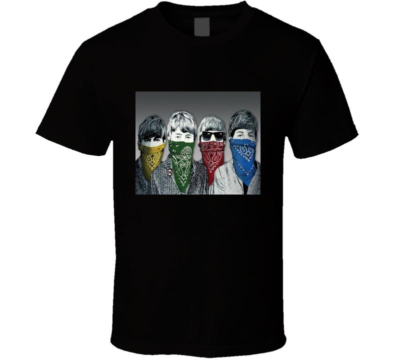 The Four Banditos - Artsy Fab Four Gangsta tee T Shirt