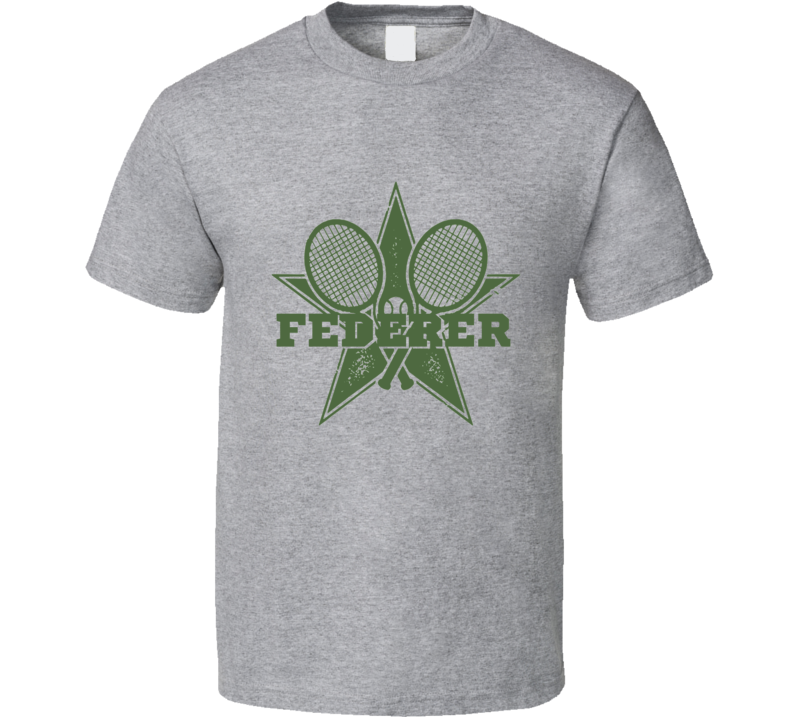 Roger Federer - Tennis Rep Your Champ Tee T Shirt